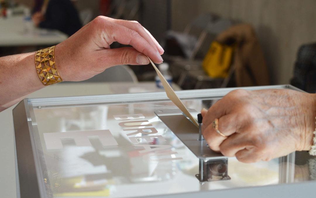 Résultats du premier tour des élections présidentielles à Saint-Yrieix