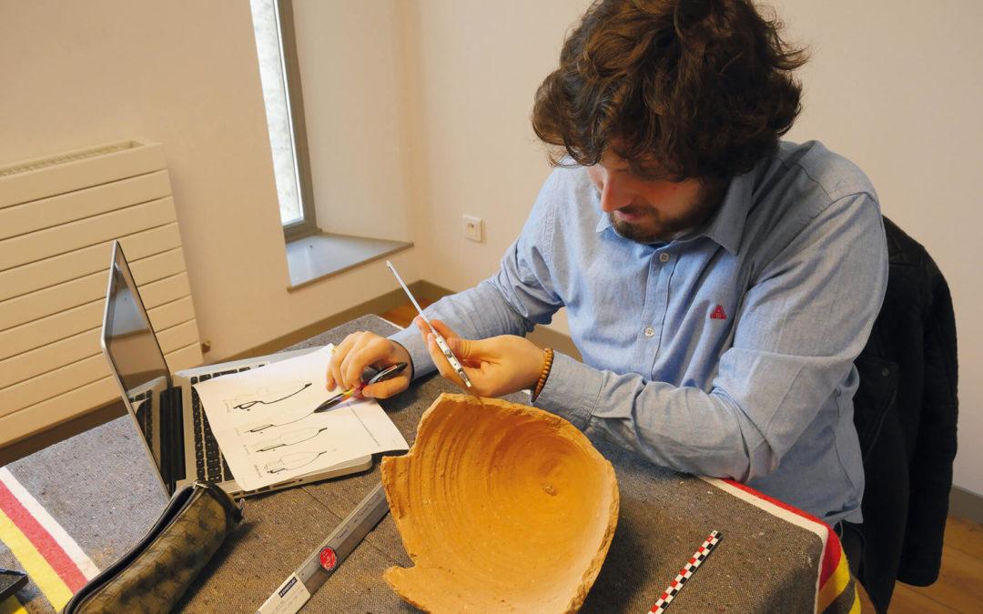Prospection archéologique en cité arédienne