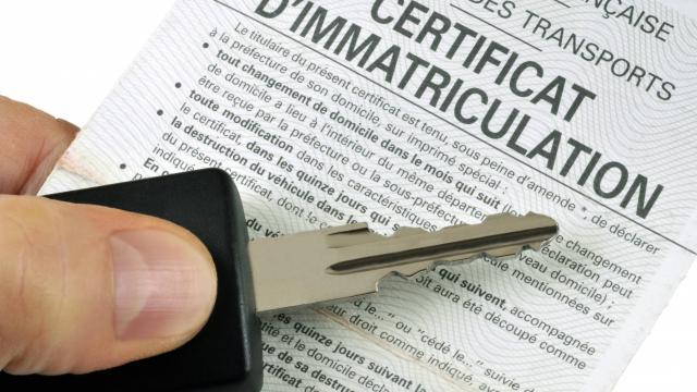 Permis de conduire et certificat d'immatriculation
