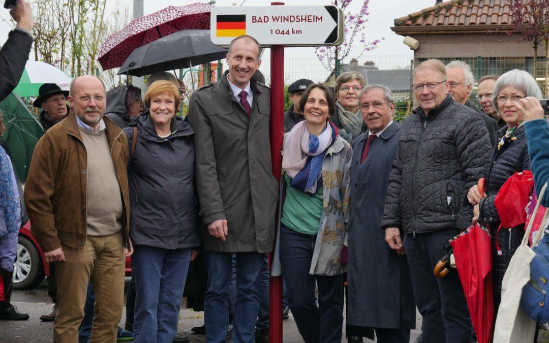 Retour en images sur les festivités des 30 ans de jumelage Bad Windsheim / Saint-Yrieix