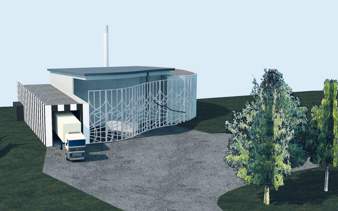Travaux de réseau de chaleur écologique : la chaufferie biomasse bientôt en service