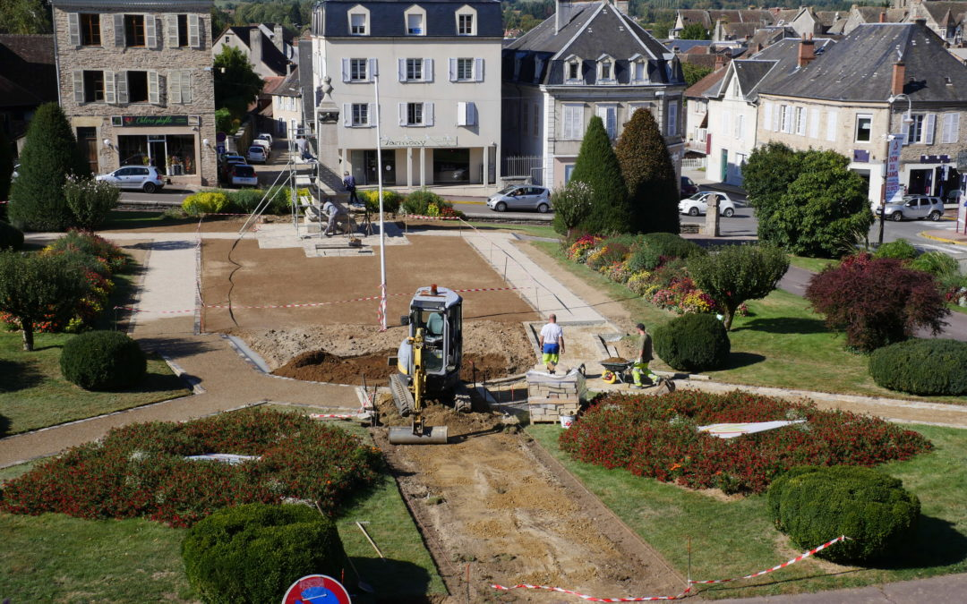 Travaux – Restauration du monument aux morts