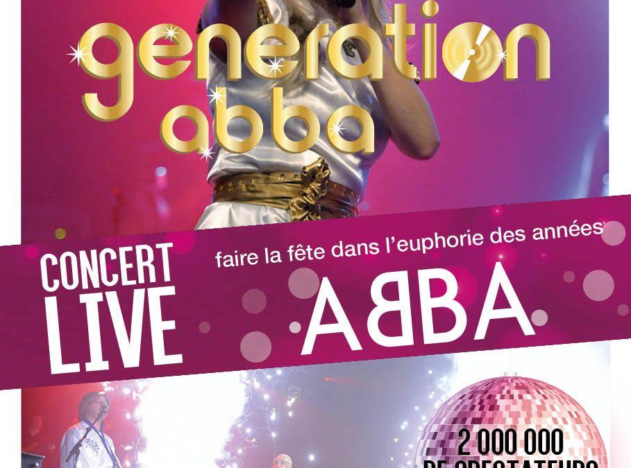 Événement – Génération ABBA en concert !