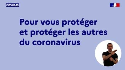 Information COVID-19 : mesures de précaution à Saint-Yrieix