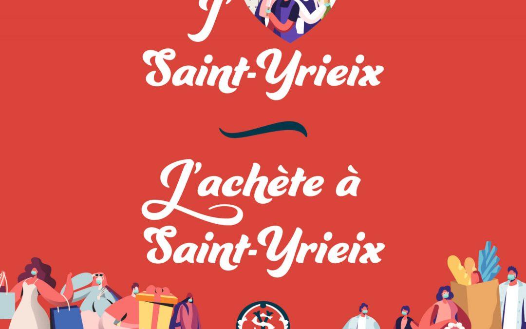 J'aime Saint-Yrieix, j'achète à Saint-Yrieix !