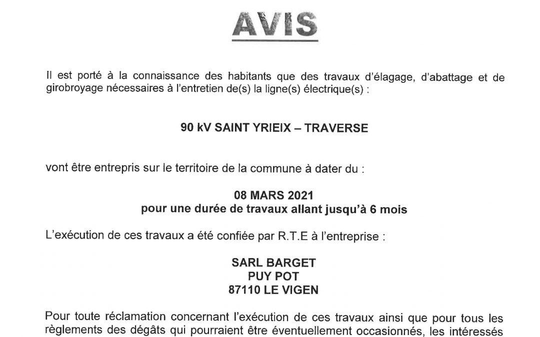 Travaux d'élagage Saint-Yrieix / La Traverse