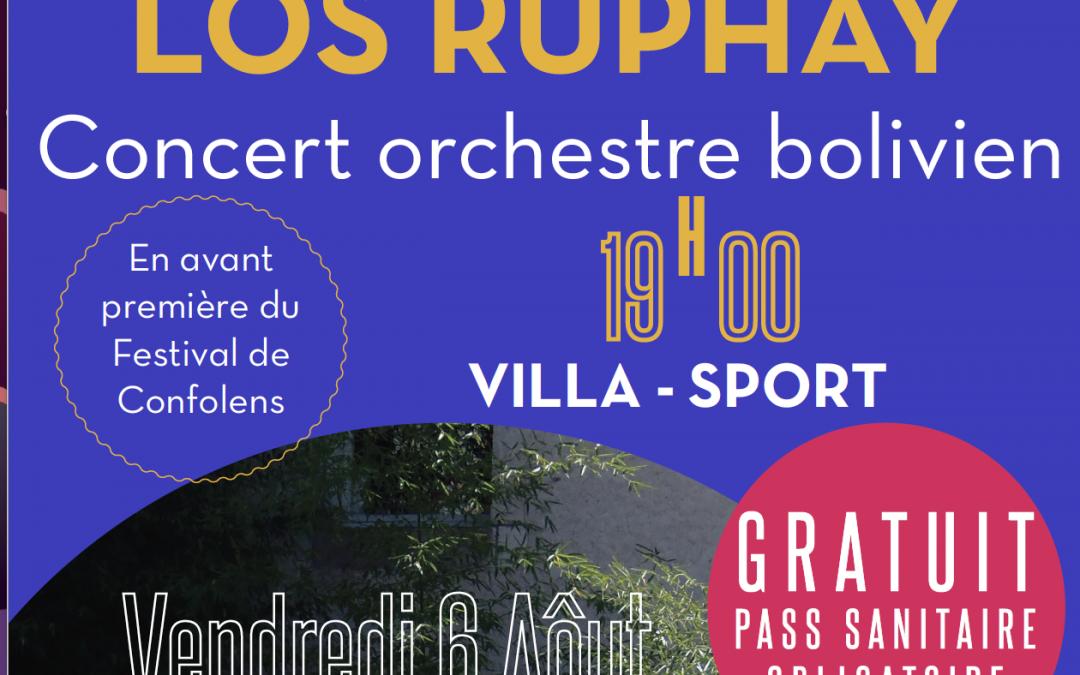 Los Ruphay du Festival de Confolens
